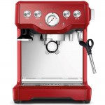 Breville BES840XL the Infuser Semi-Automatic Espresso Machine in Red